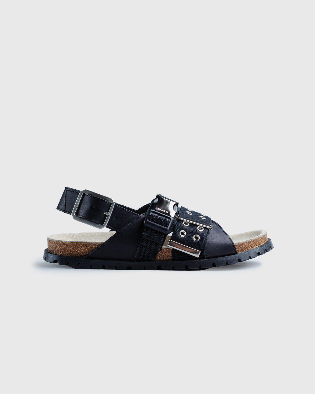 A.P.C. x Sacai — Sandals Black - Image 1