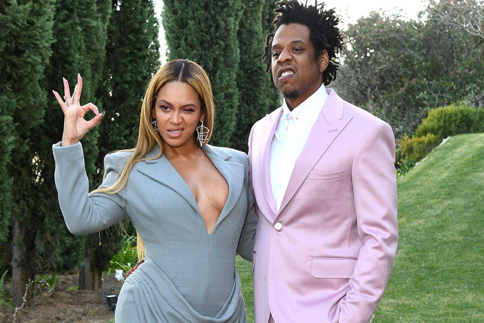 Beyoncé and Jay-Z attend 2020 Roc Nation THE BRUNCH