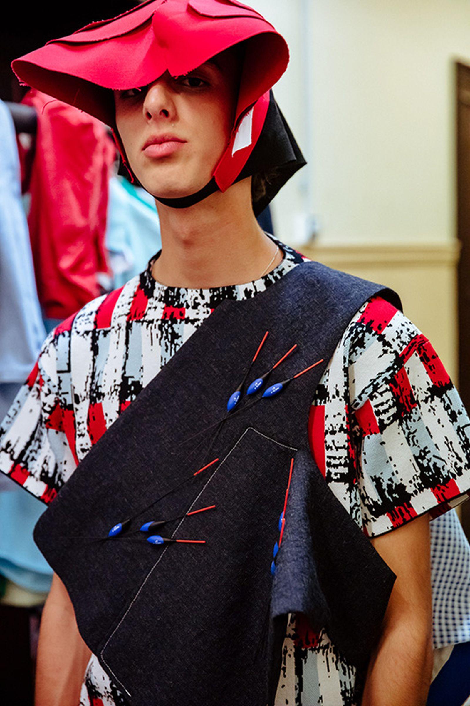 namacheko ss20 paris fashion week runway