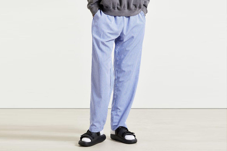 Striped Woven Lounge Pant