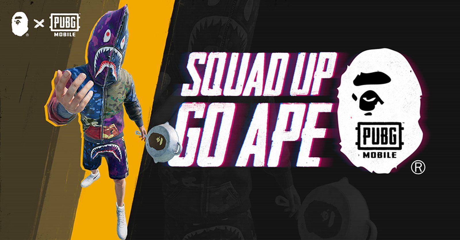 bape playerunknowns battlegrounds collaboration A Bathing Ape PlayerUnknown's Battlegrounds pubg