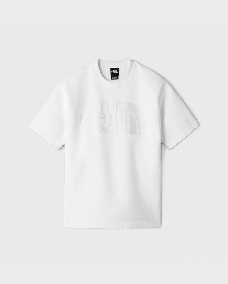 The North Face Black Series — Engineered Knit T-Shirt White