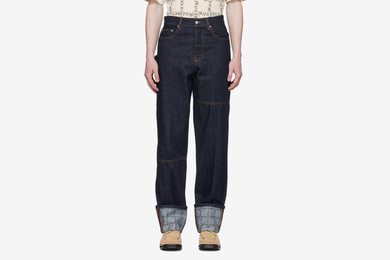 Turn-Up Workwear Jeans