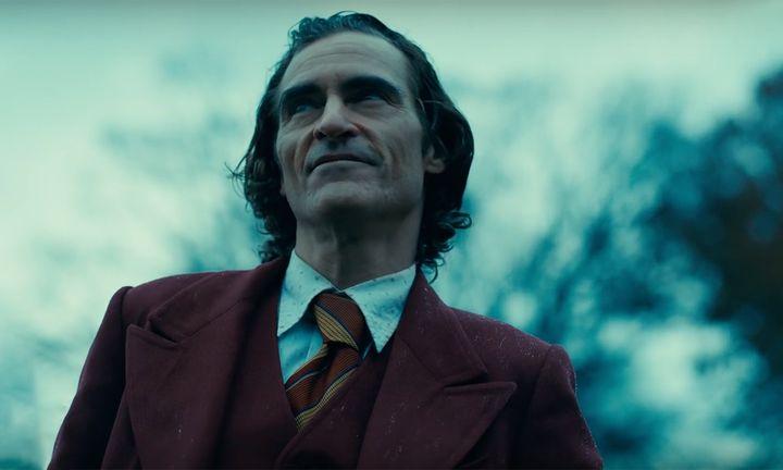 Joaquin Phoenix as the joker