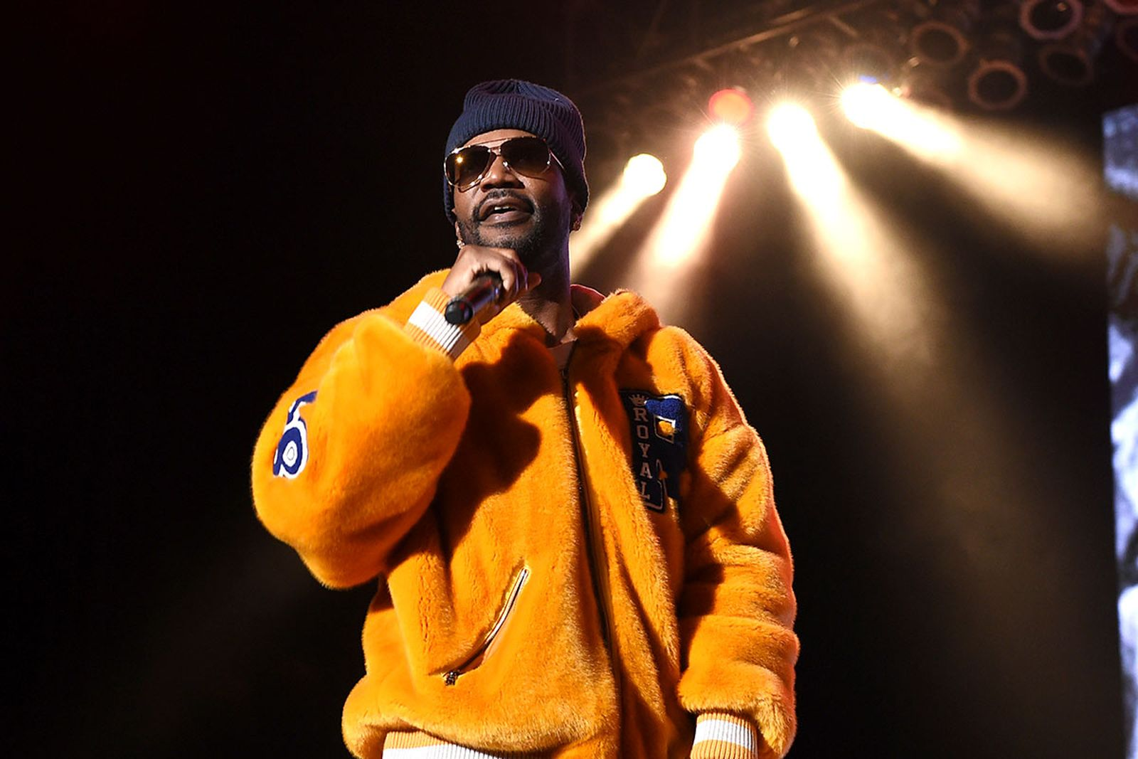 Juicy J performs at Mac Miller memorial concert