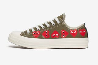 3d84b69f13021 COMME des GARÇONS PLAY   Converse. Previous Next. Brands  COMME des GARÇONS  PLAY x Converse. Models  Chuck Taylor All Star  70 High ...
