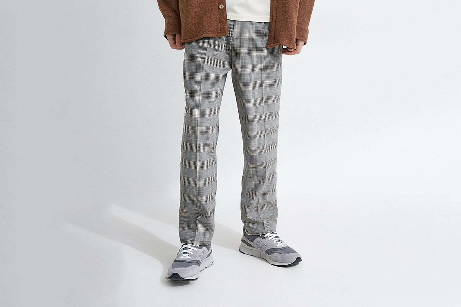 Plaid Tailored Pant