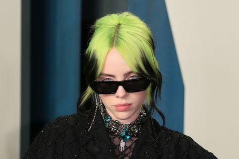 Billie Eilish attends the 2020 Vanity Fair Oscar Party