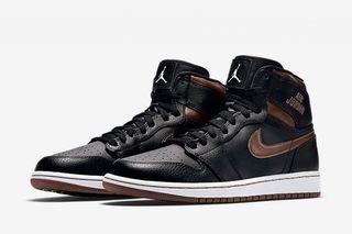 half off a56d7 f1b17 Nike Reissues the Air Jordan 1 Rare Air in Black Bronze