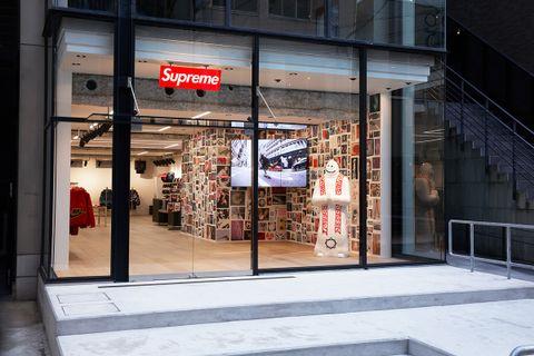 Supreme Fukuoka Japan store