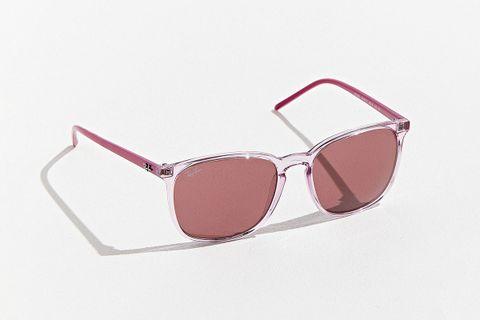 Transparent Wayfarer Square Sunglasses