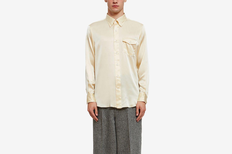 Silk Long Sleeve Shirt