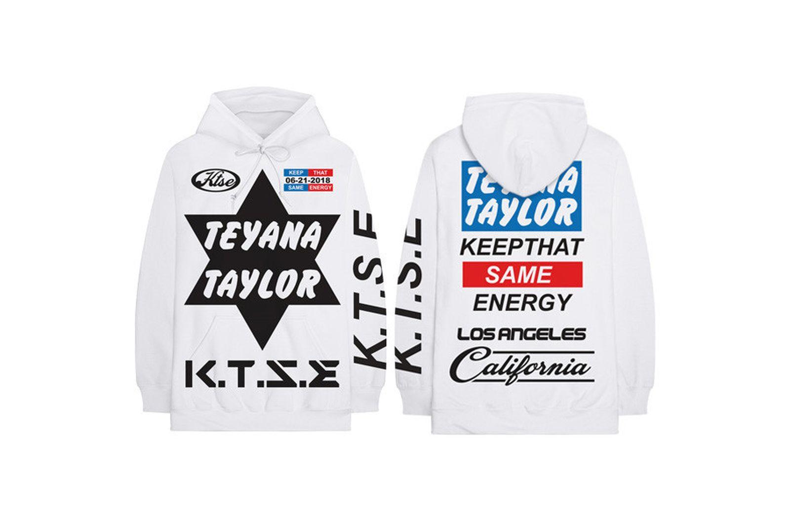 teyana taylor ktse price release date ASAP Ferg Merchandise Travis Scott