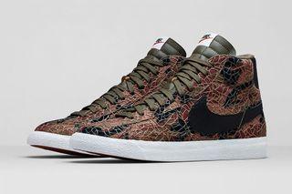 """sports shoes e4c2c cce8d Nike Blazer Mid Premium Vintage """"Safari"""" Collection"""