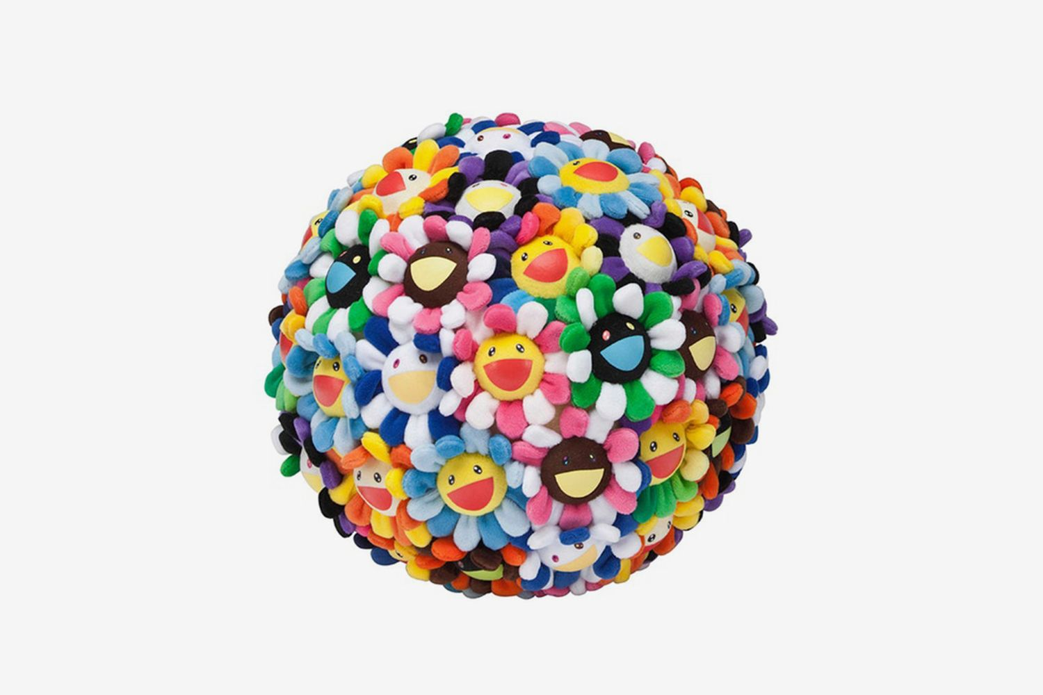 Flower Plush Ball 28cm