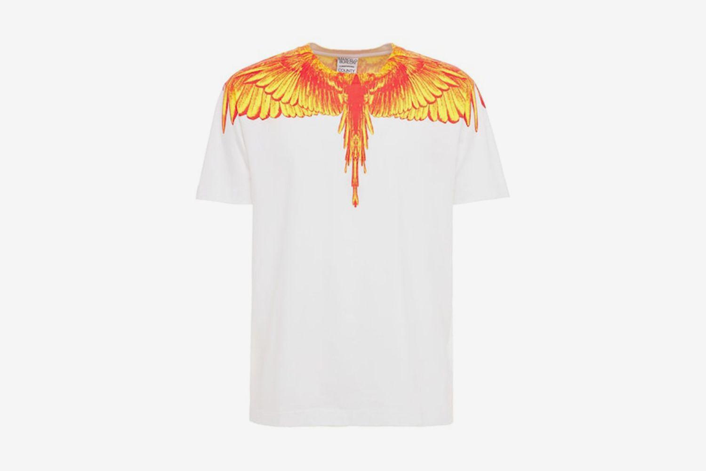 Wings Print T-Shirt