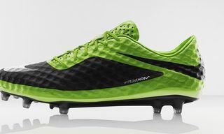 "Nike Hypervenom ""Flash Lime"" Boot"
