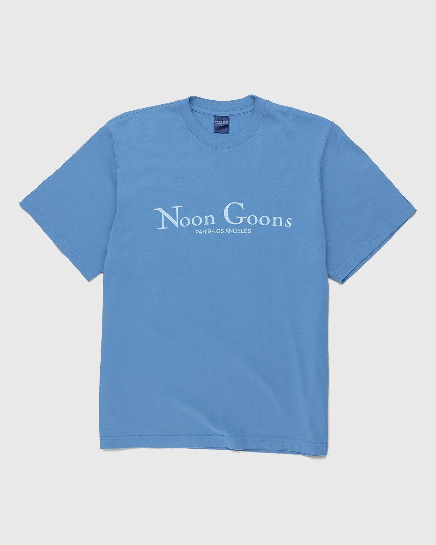 Noon Goons – Sister City T-Shirt Blue - Image 1