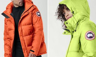 Canada Goose's New Neon Parkas Will Turn Heads This Winter