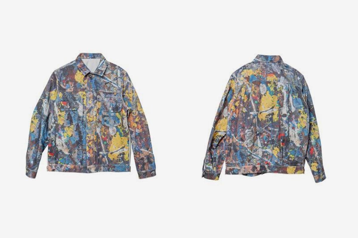 sacai Brings the Drip With New Jackson Pollock Collection