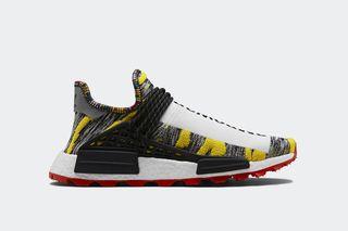"449549925 Pharrell Williams x adidas Originals NMD Hu ""Solar""  Where to Buy"