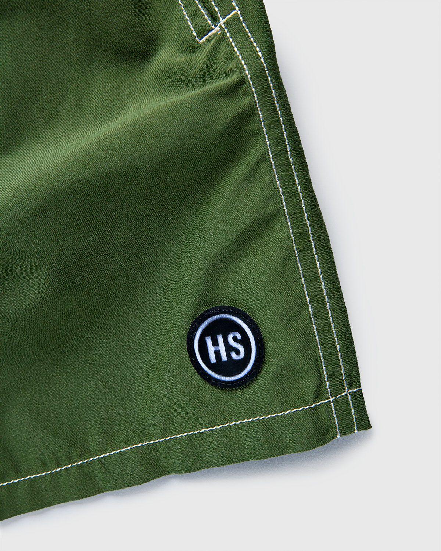 Vilebrequin x Highsnobiety — Logo Shorts Green - Image 3