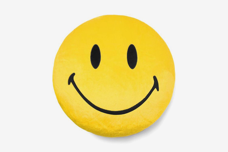 Smiley Plush Pillow