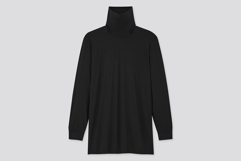 Heattech Turtleneck Long-Sleeve T-Shirt