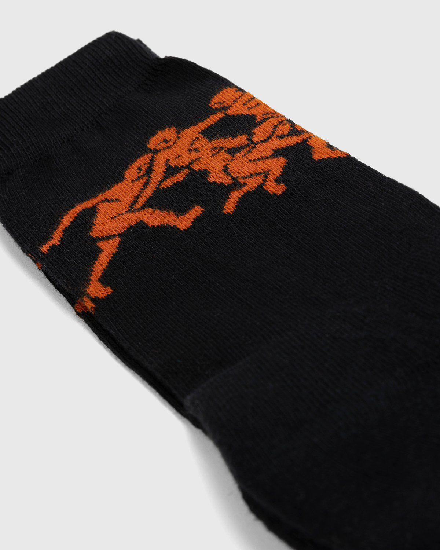 Carne Bollente – Who Lies Beneath Socks Black - Image 3