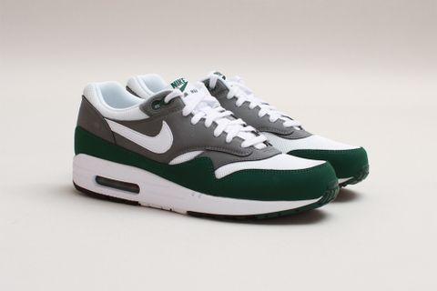 check out 33b52 bbd34 Nike Air Max 1 Essential White Mercury Grey-Gorge Green