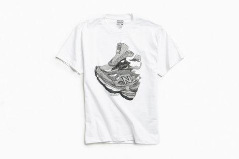 newest 61484 5c774 New Balance 990 T-Shirt
