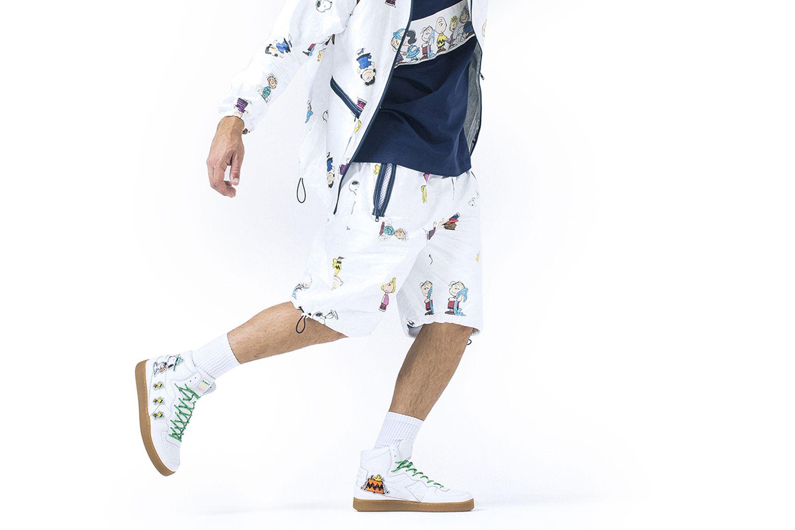 lc23 diadora peanuts sneakers release date price 1 Diadora Mi Basket diadora b elite