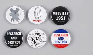 Easy Accessories with this 6 Piece Pin Badge Set from A.Four