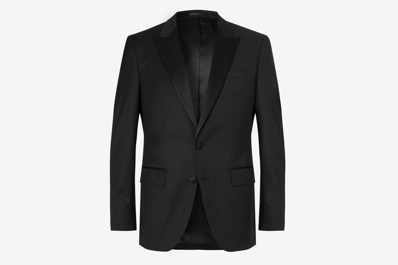 Halwood Slim-Fit Super 120s Virgin Wool Tuxedo Jacket