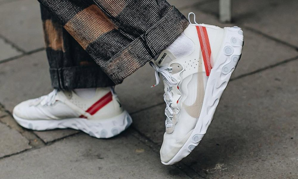 Nike React Element 87 Shoes How to Style the Nike React Element 87