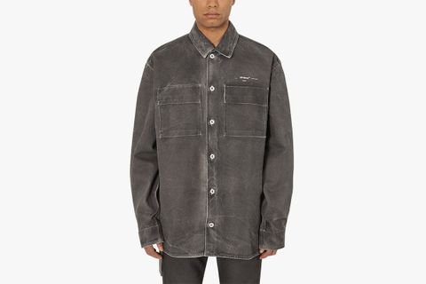 Arrow Over Denim Shirt