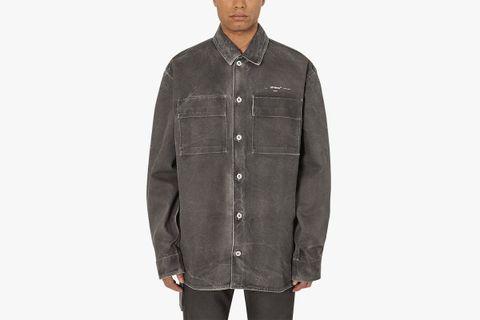 Arrow Over Denim Shirt
