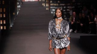 hm moschino runway show new york reactions h&m