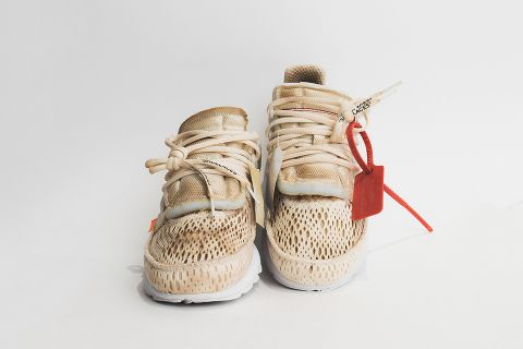 huge discount 8d23a 2f874 Start Your Day Right With These Coffee-Dyed OFF-WHITE Prestos