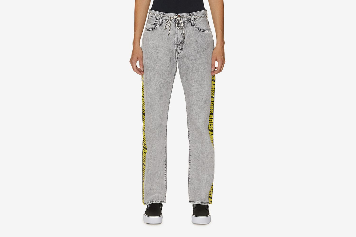 Lilly Yellow Tape Jeans
