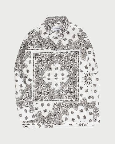 Miyagihidetaka Bandana Shirt White