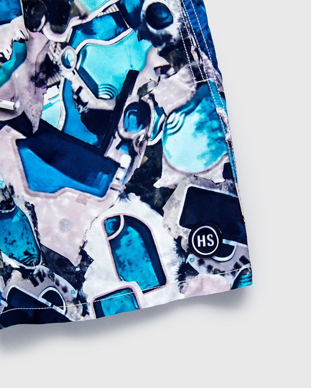 Vilebrequin x Highsnobiety — Pattern Shorts Blue - Image 3