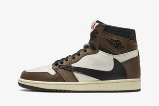 8b4ed7b4 Every Single Store Releasing Travis Scott's Reverse-Swoosh Air Jordan 1  Today