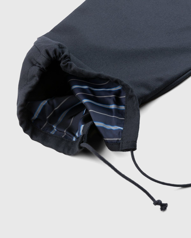 Maison Margiela – Drawstring Leg Trousers Black - Image 7
