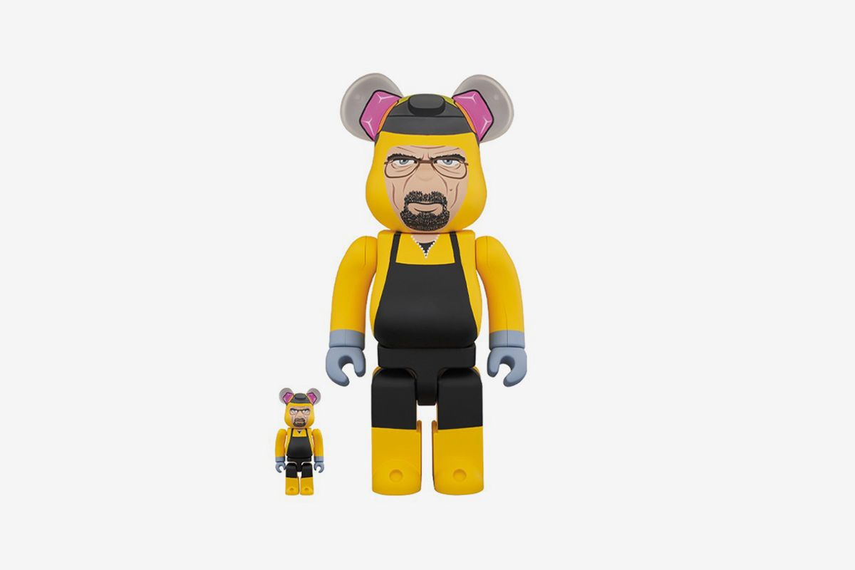 Channel Your Inner Walter White With Medicom Toy's 'Breaking Bad' Be@rbricks