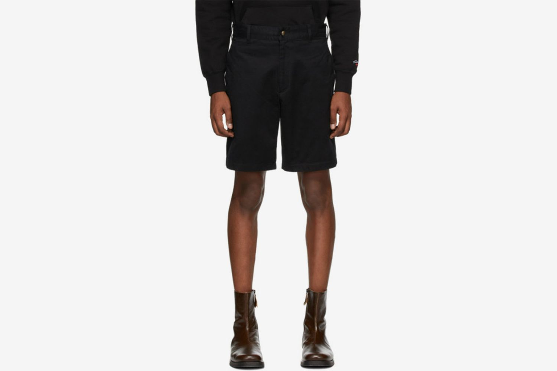 Black Military Shorts