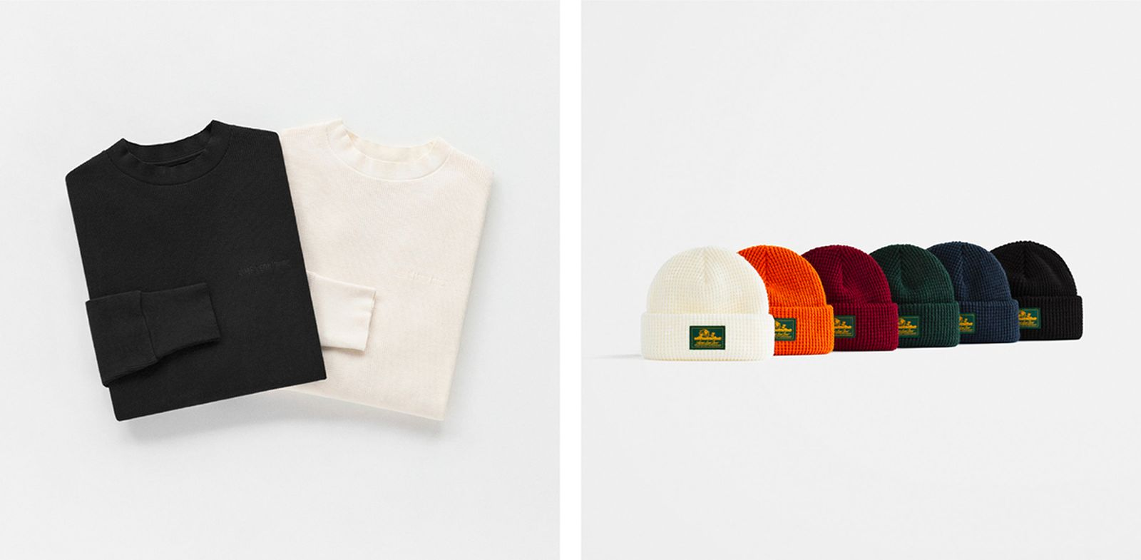 Aimé Leon Dore FW19 Uniform Program crewnecks beanies
