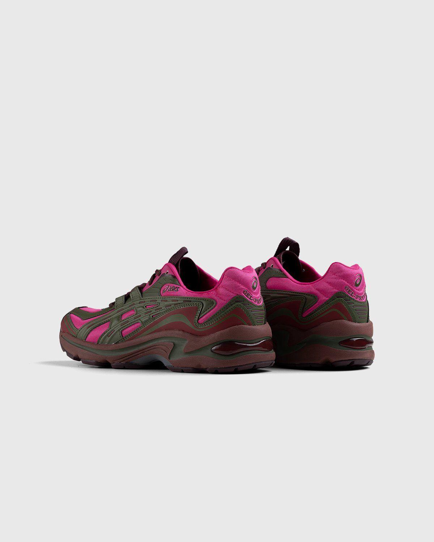 ASICS – FB1-S Gel-Preleus Pink Rave/Olive Canvas - Image 3
