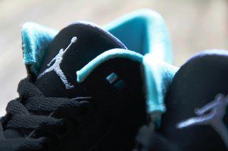 "sports shoes 9fbda 02cd9 Air Jordan 3 Retro GS ""Black Mint Green-Cement Grey"""