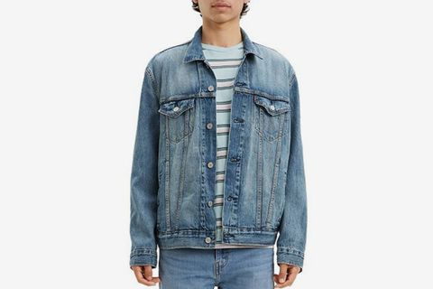 Regular Fit Denim Trucker Jacket